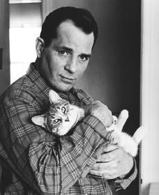 Keroac, with cat (credit unknown to me)