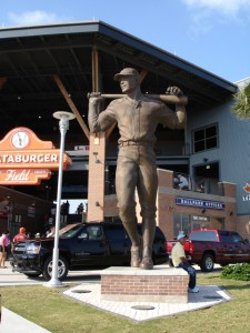 The Entrance of Whataburger Field